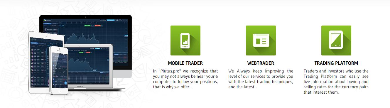 trading platforms Plutus Global