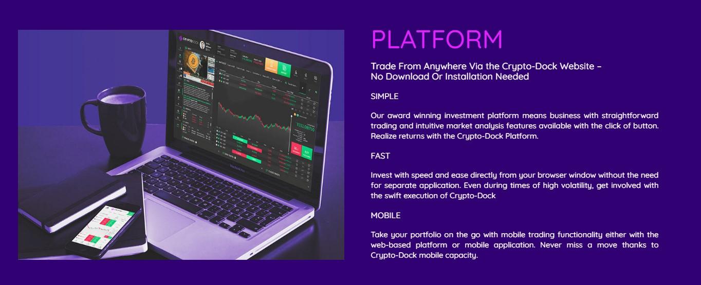 crypto dock platform